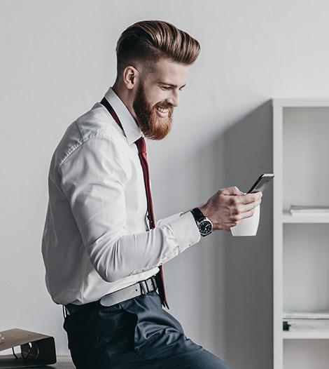 Imagem do site da Agência de Marketing Digital Postali