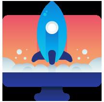 Elemento da página de criação de sites de alta performance