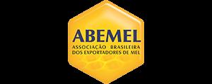 Logotipo da Associação Brasileira dos Exportadores de Mel inserido na página de clientes do site da Postali