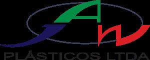 Logotipo da empresa Jaw Plasticos Ltda, inserido na página de clientes do site da Postali