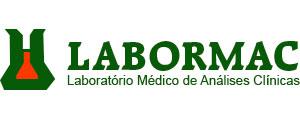 Logotipo do laboratório médico de análises clinicas Labormac