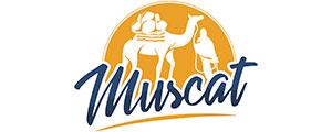 Logotipo da loja de itens para casa Muscat