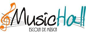 Logotipo da escola de música Music Hall de Rio Claro