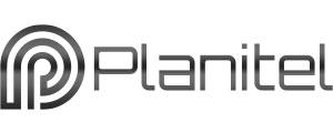 Logotipo da empresa de soluções elétricas Planitel