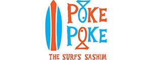 Logotipo da empresa de culinária havaiana Poke Poke