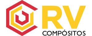 Logotipo da empresa de perfil pultrudado em Rio Claro - RV Compósitos