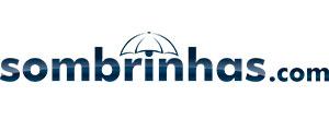 Logotipo da loja de guarda-chuvas e sombrinhas - Sombrinhas.com